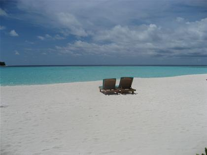 もルディブのビーチ